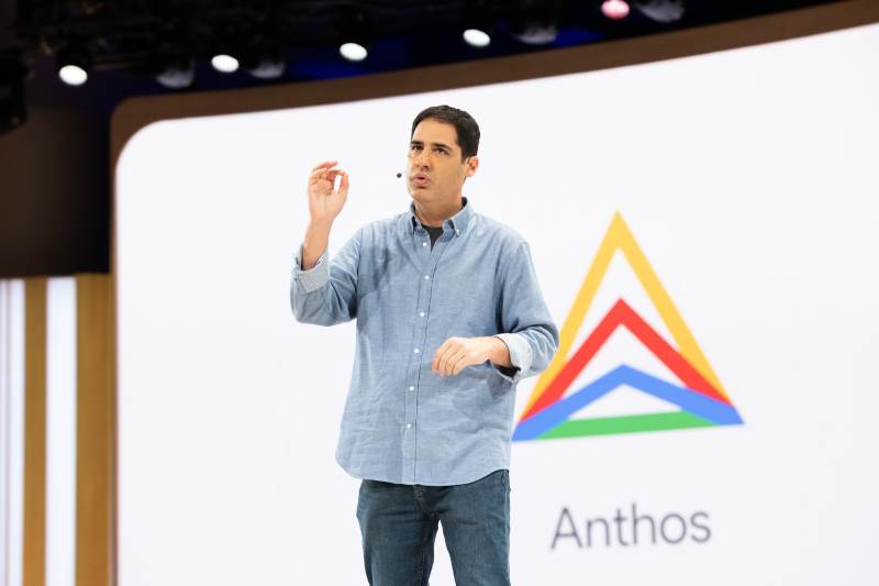 Lancement d'Anthos, la stack cloud privé de Google