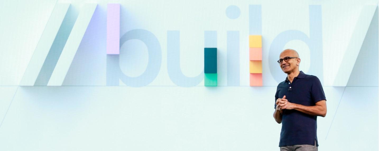 Build 2019 avec Satya Nadella